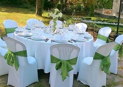 Юбилей в зелено и бяло